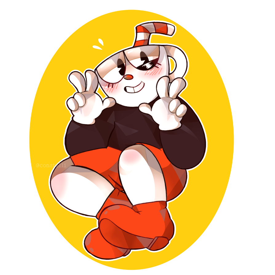 Booty transparent cuphead. Swing by consteili on