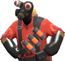 Booty transparent pyro. Pop eyes official tf