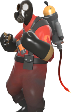 Booty transparent tf2 pyro. Tail from the crypt