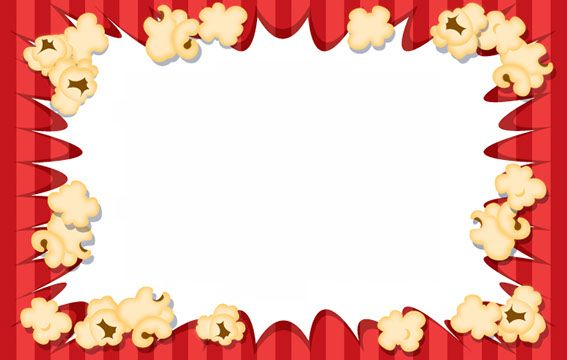 Clip art speech language. Border clipart popcorn svg freeuse stock