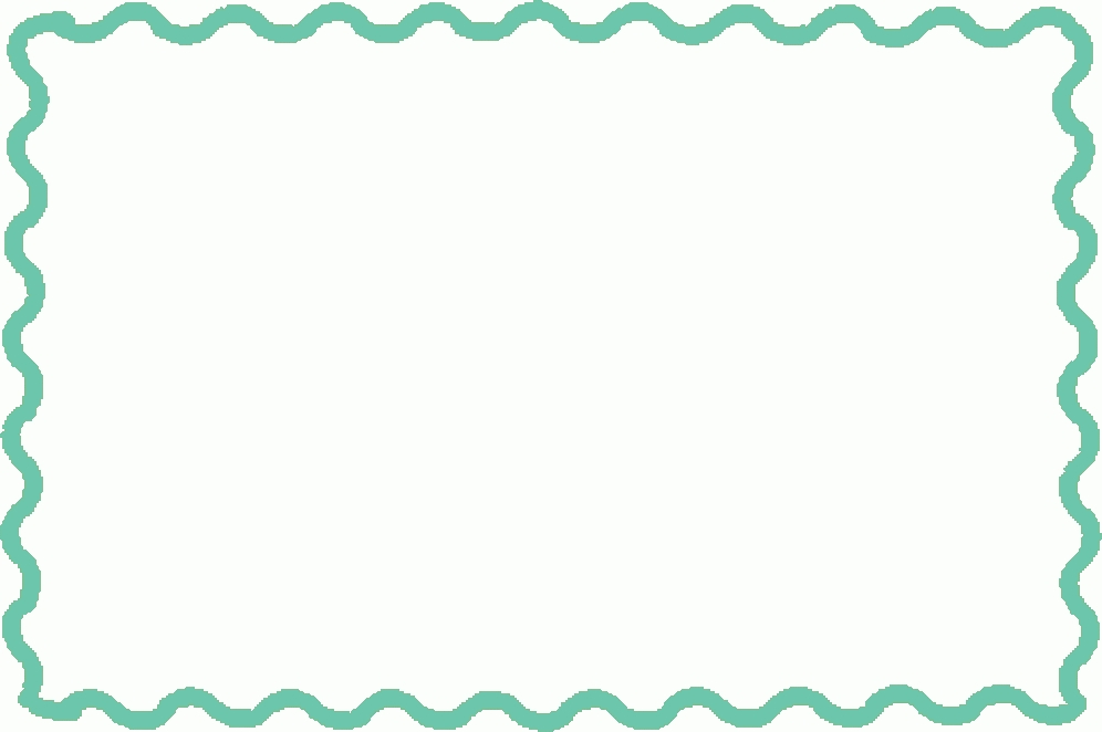 Border clipart simple. Color kind of letters