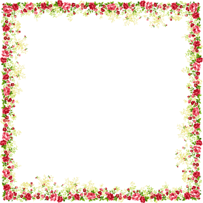Border designs png. Download flowers borders free
