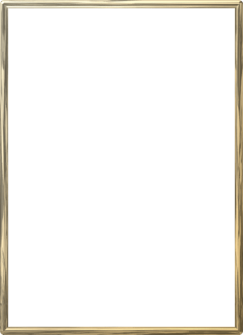 Stone frame png. Gold border free images