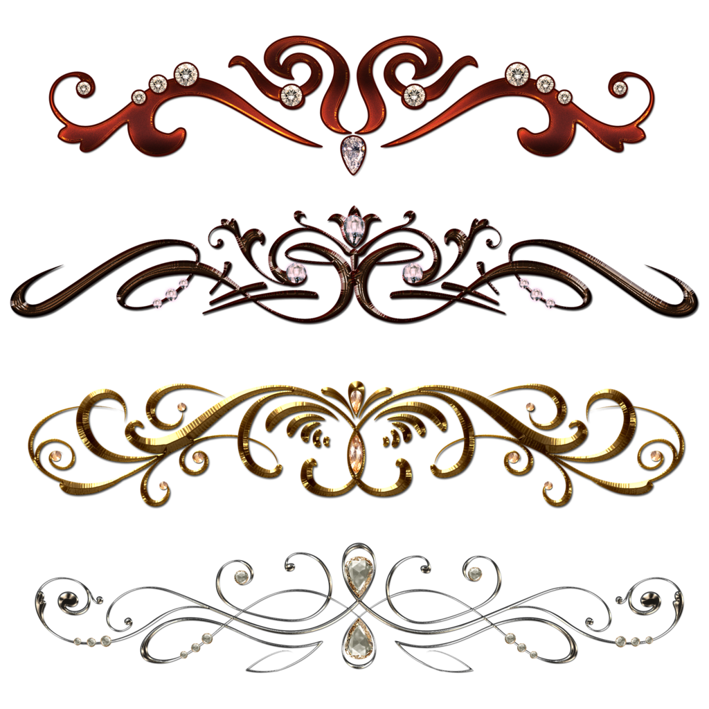 Border image png. Vintage borders with gems