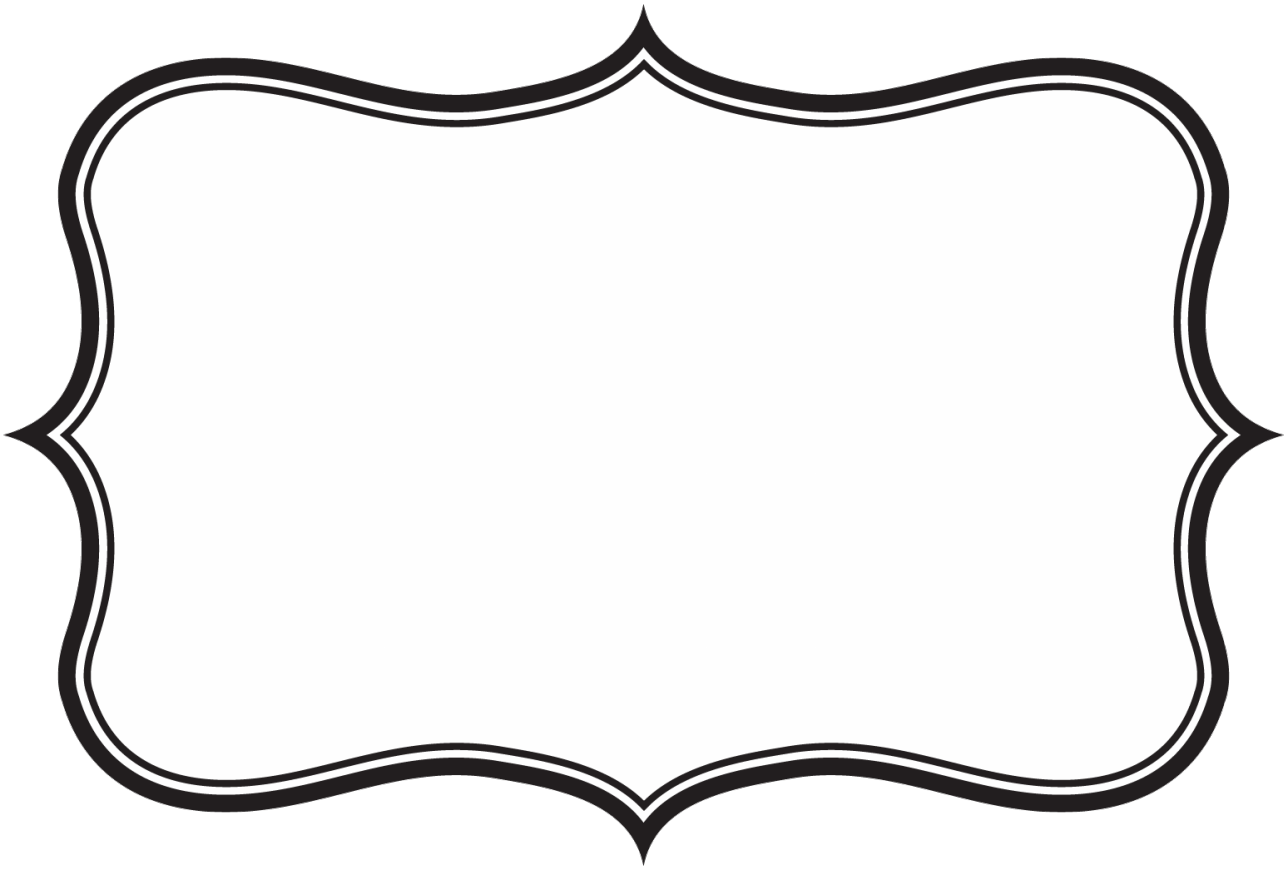 Border label png. Collection of frame