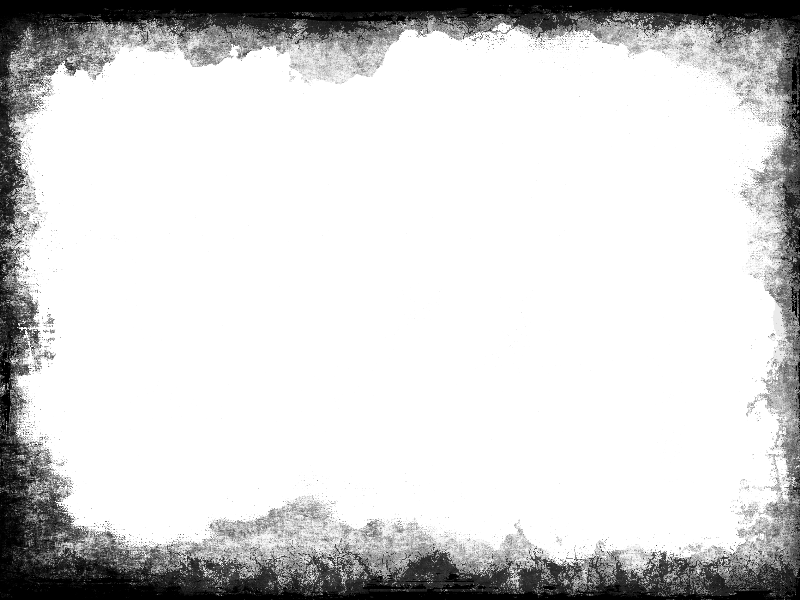 Photoshop borders png. Grunge vignette border transparent