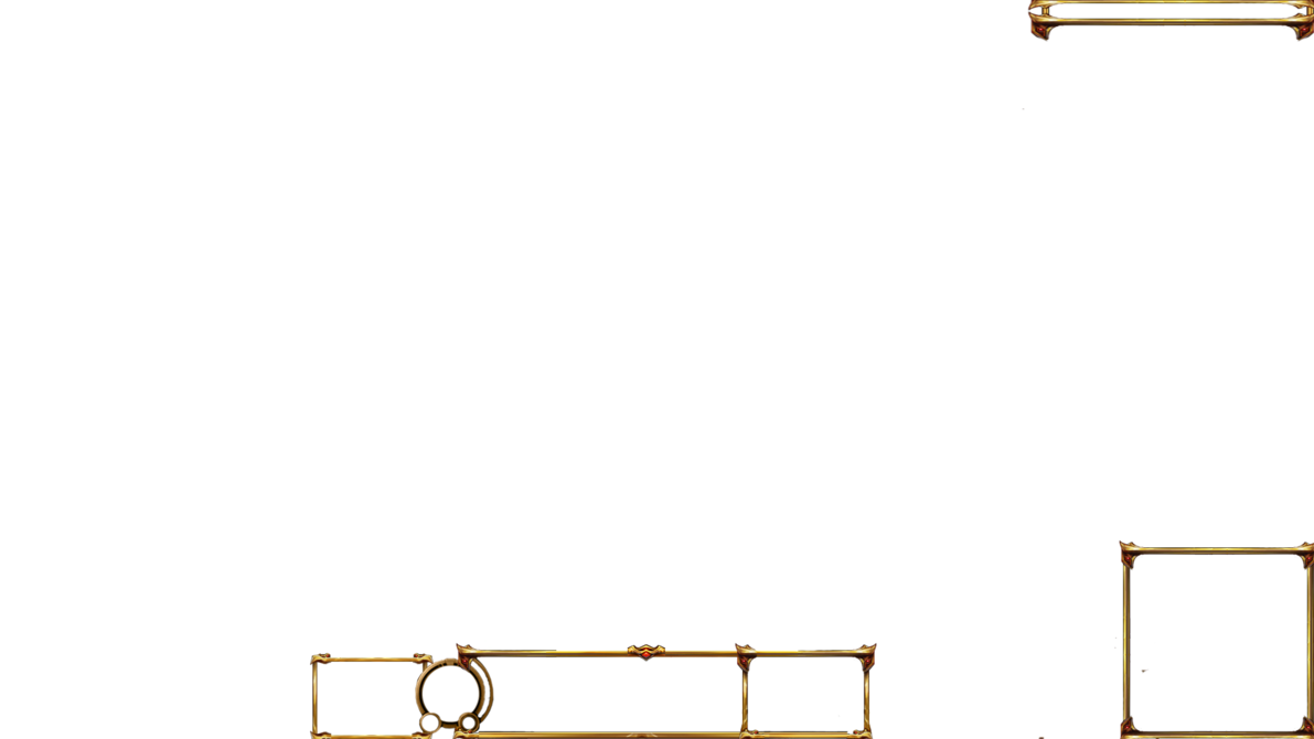 Free gold lol streaming. Border overlay png graphic royalty free