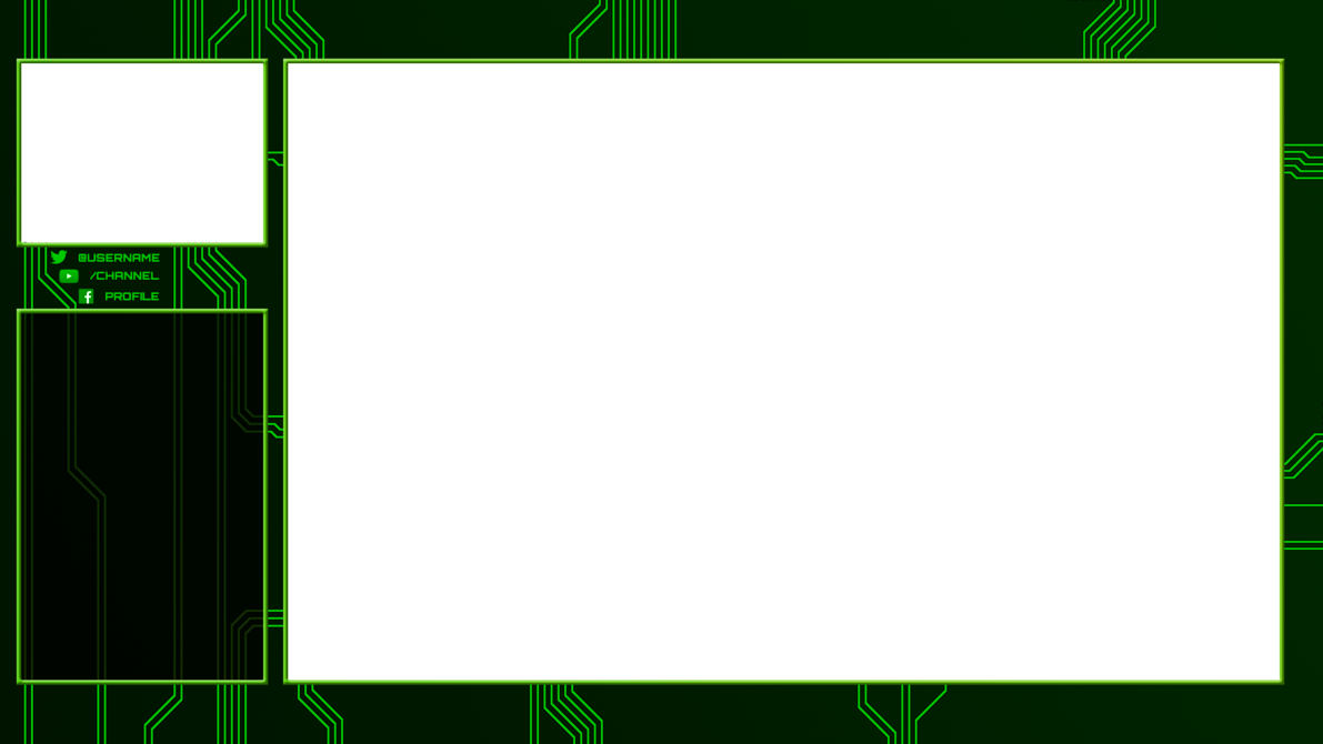 Border overlays png. Twitch overlay circuits