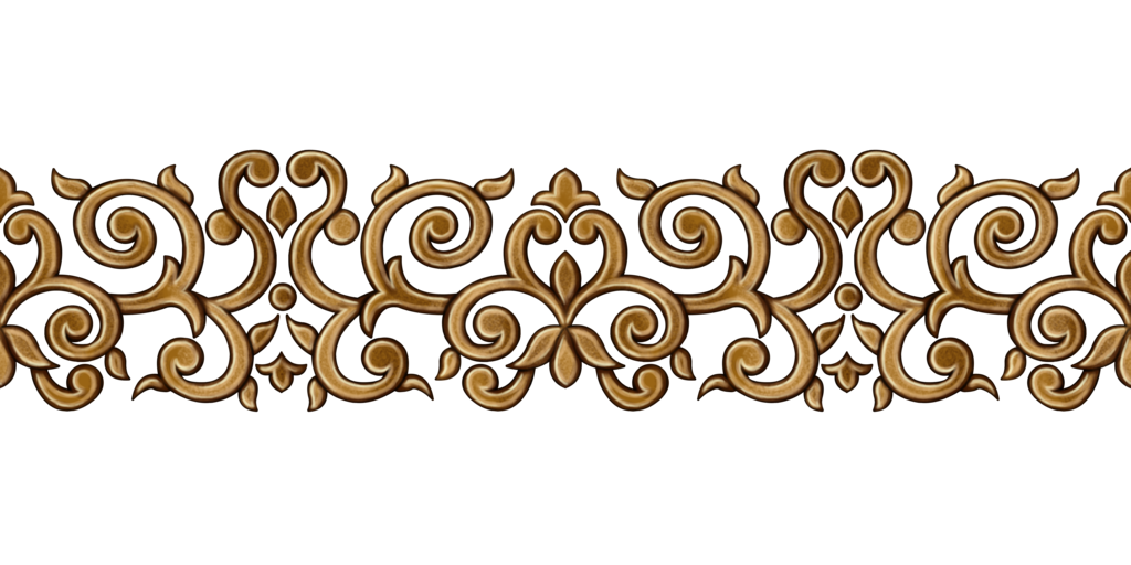 Border patterns png. Golden pattern by yagellonica