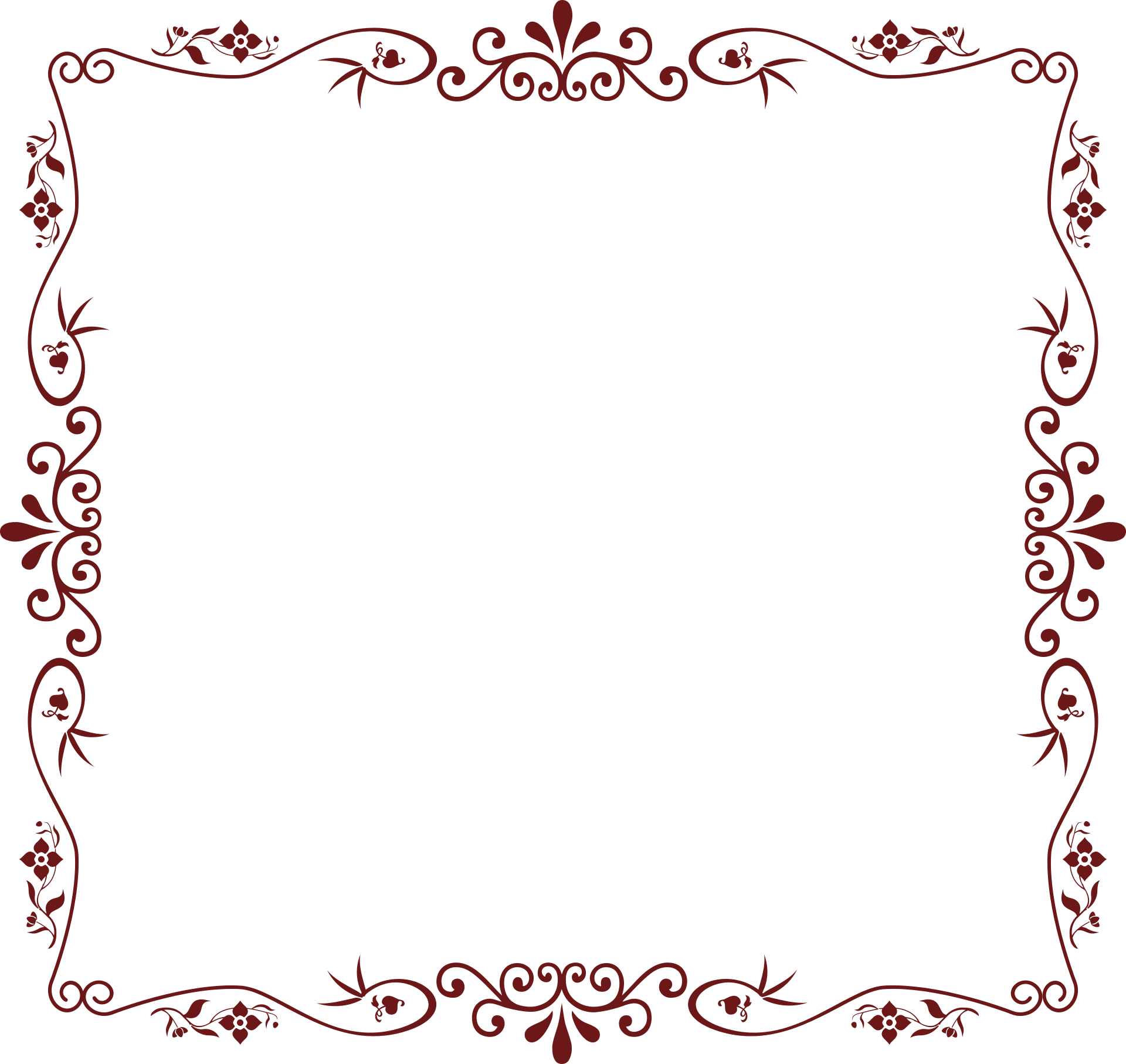 Border pic arts. Photo borders png clip art black and white download