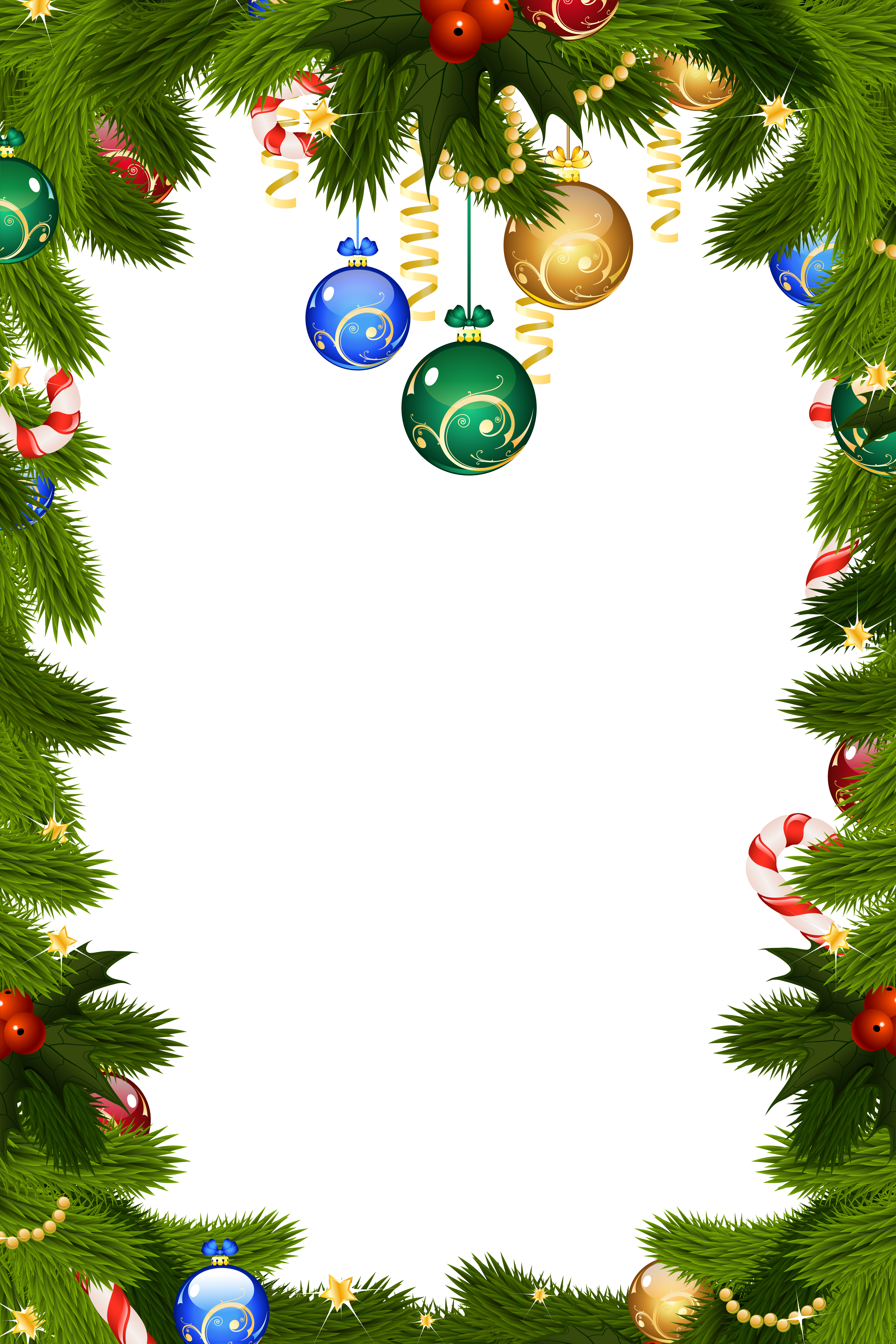 Border stock png. Transparent christmas frame gallery