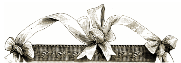Border stock png. Victorian ribbon by michelangeline