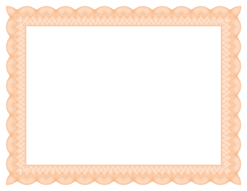 Png certificate borders. Formal fancy border template