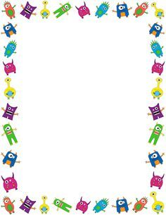 Borders clipart star. A page border with