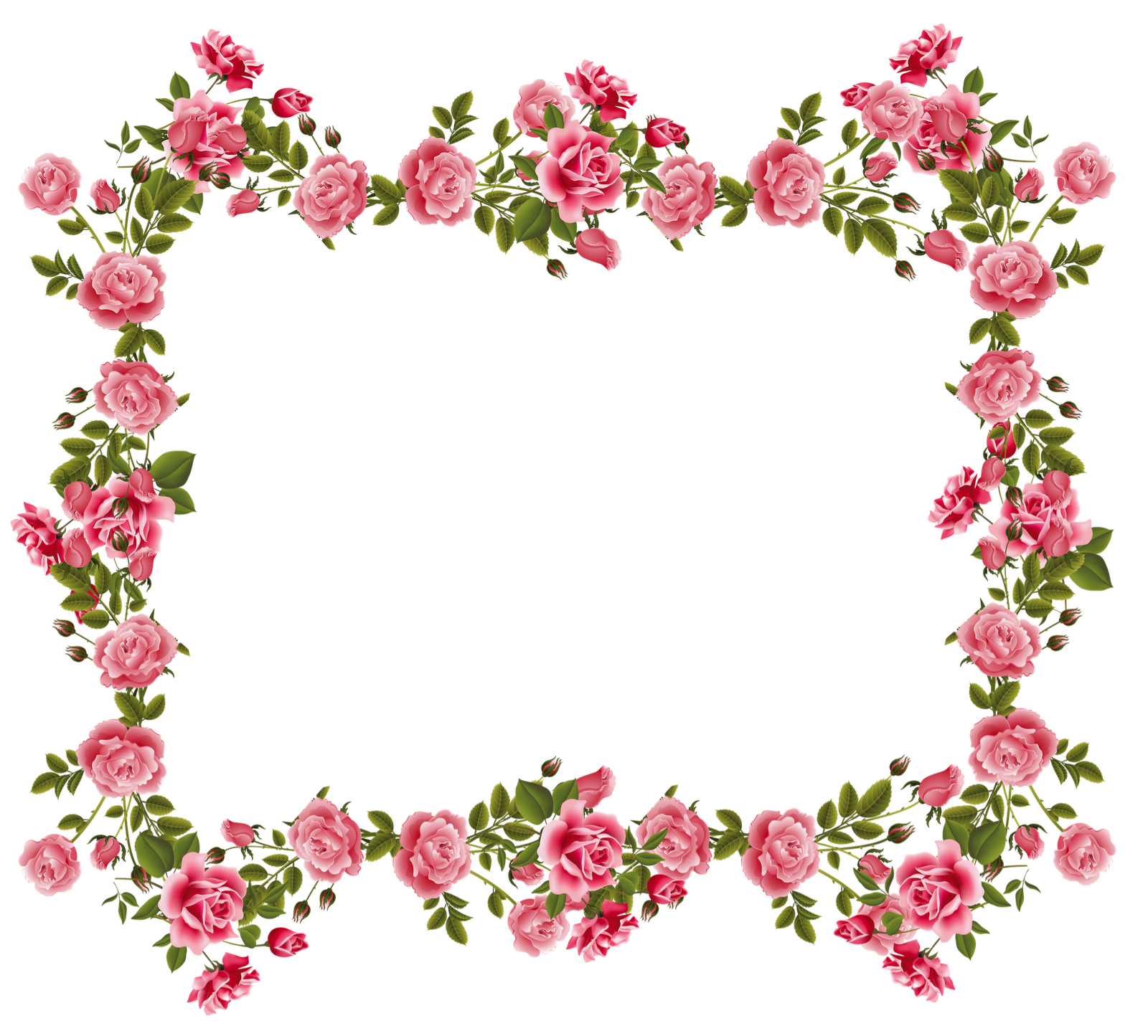 Well designed flower beds. Marco flores vintage png graphic free stock