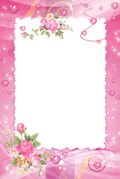 Borders .png. Pink frame png photo