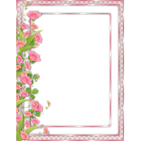 Download flowers free images. Photo borders png clip