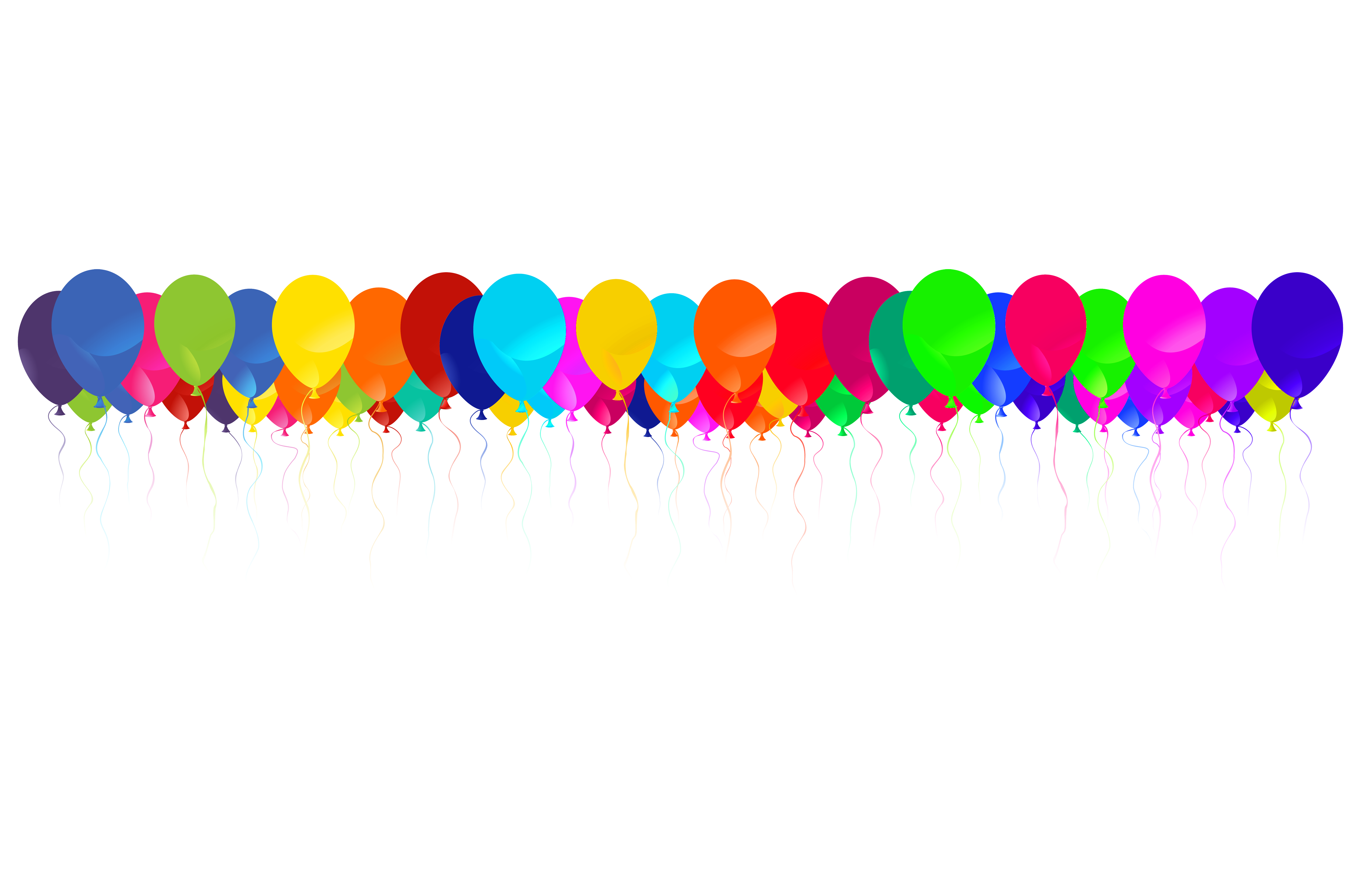 Borders png images. Free balloon border download