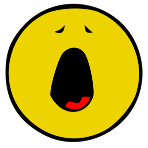 Yawn clipart bored person. Ways not to