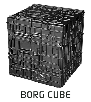 Borg ship png. Assimilation the game expansion