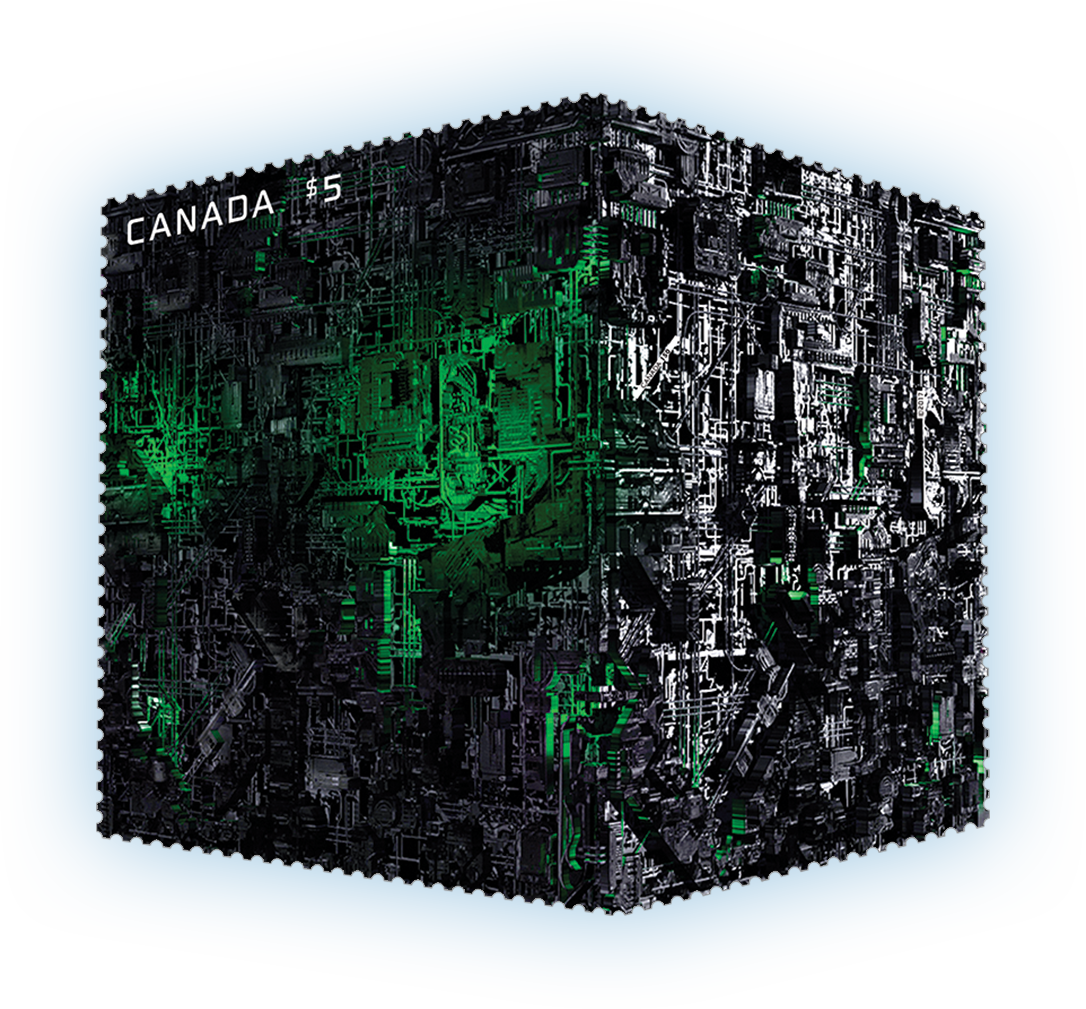 Borg ship png. The canada postage stamp