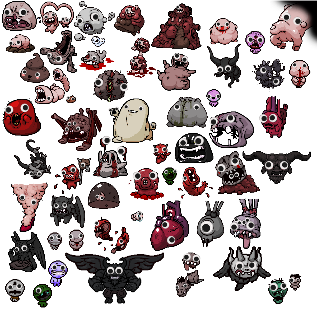 Boss drawing afterbirth. After making the last