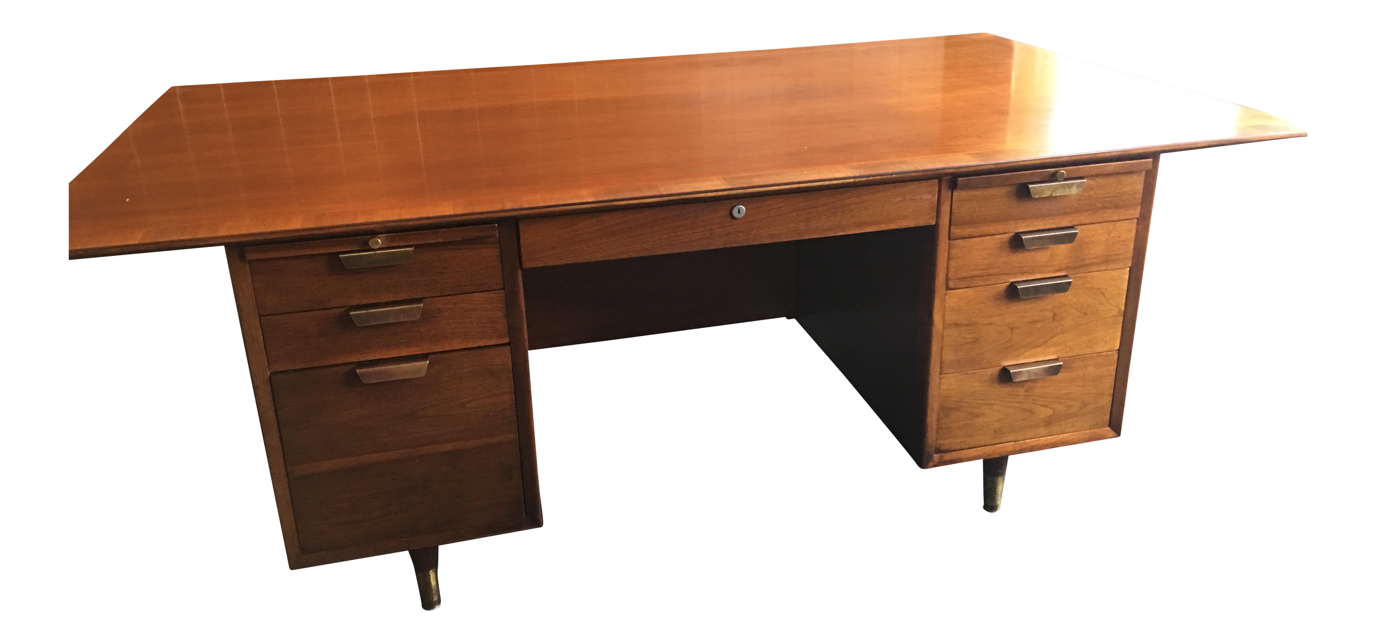 Boss drawing desk. Mid century executive by