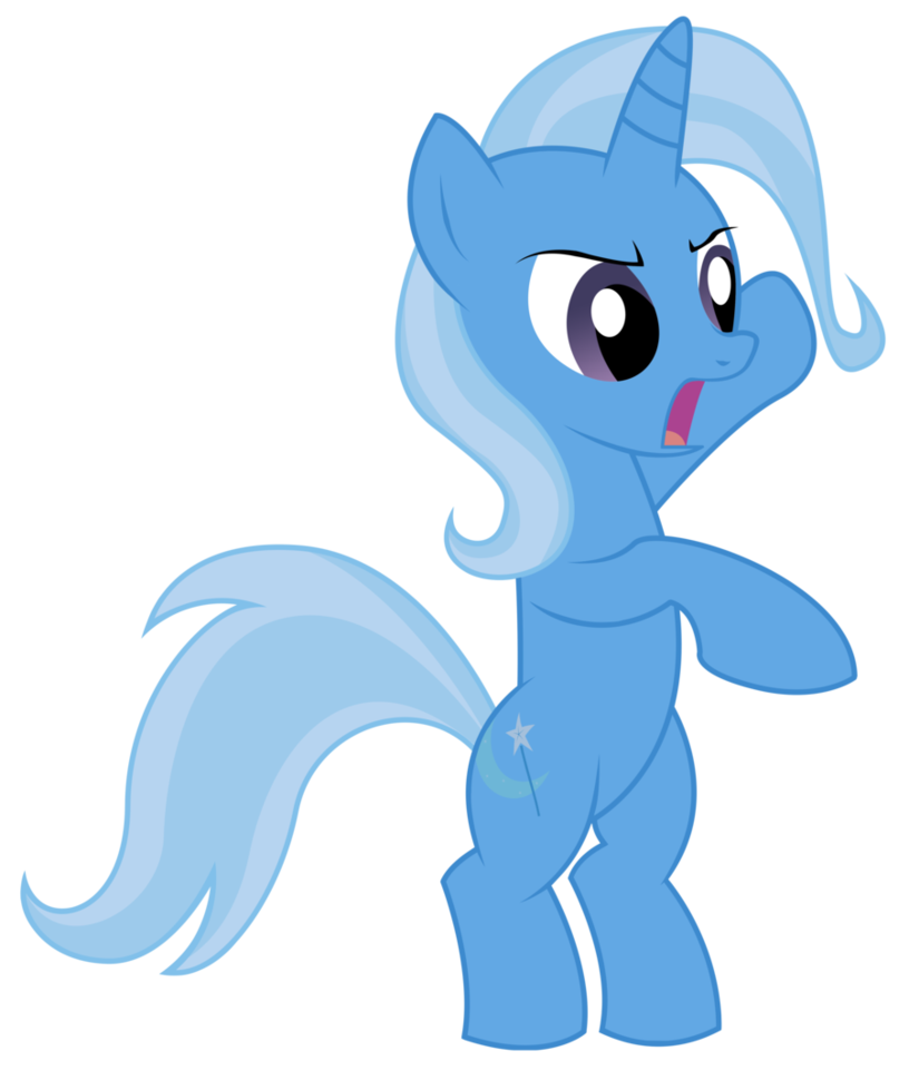 Boss drawing standing. Trixie is like a