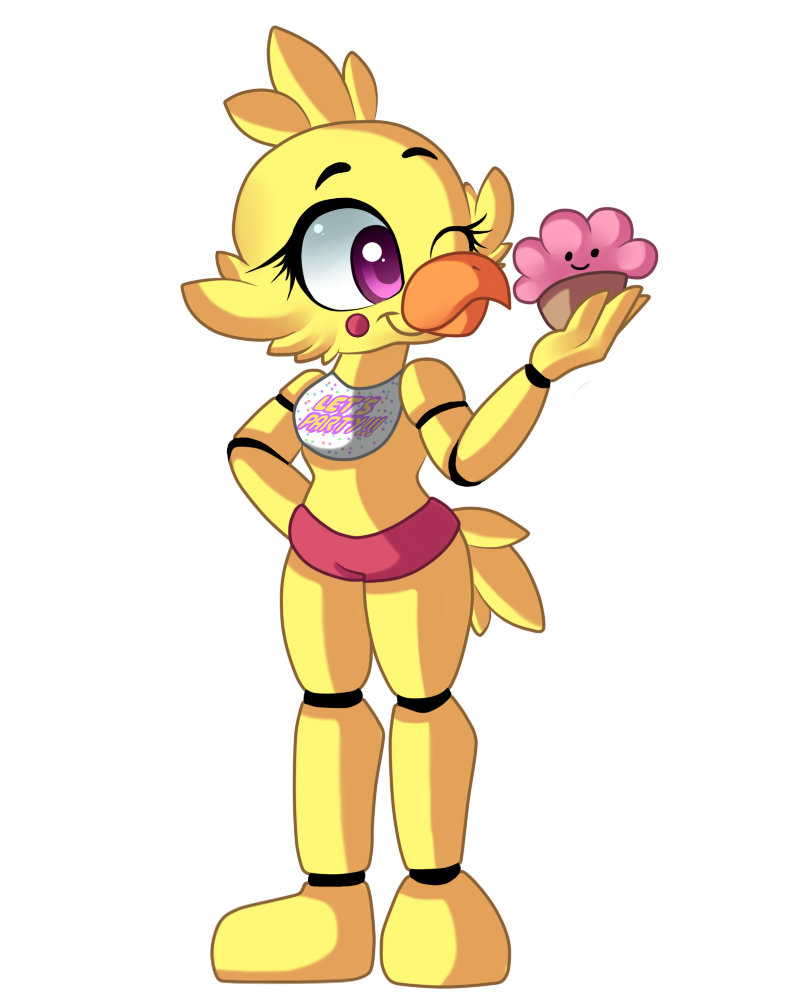 boss drawing toy chica