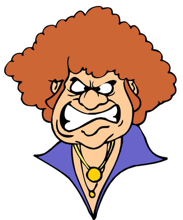 Boss vector angry person. Anger clipart black