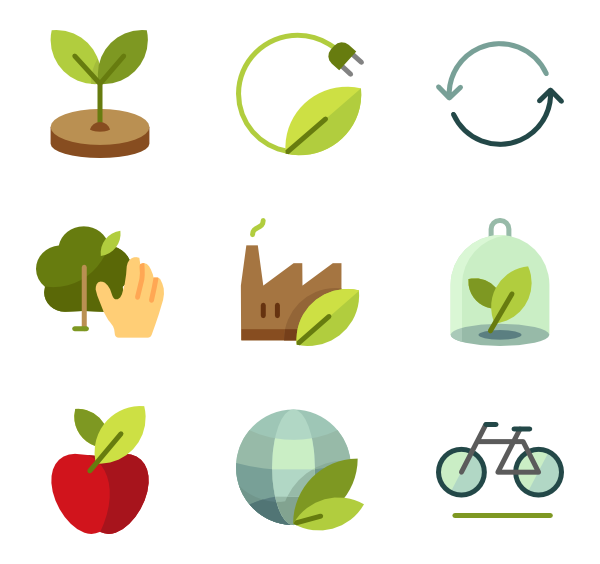 Botanical vector.  icon packs svg picture