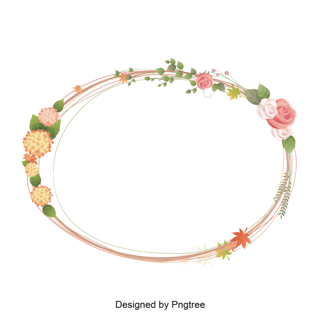 Vector set frame. Flower border decorate frameborderframe