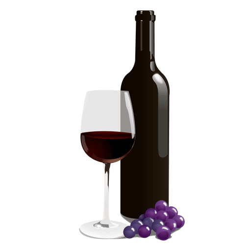 bottle of wine png