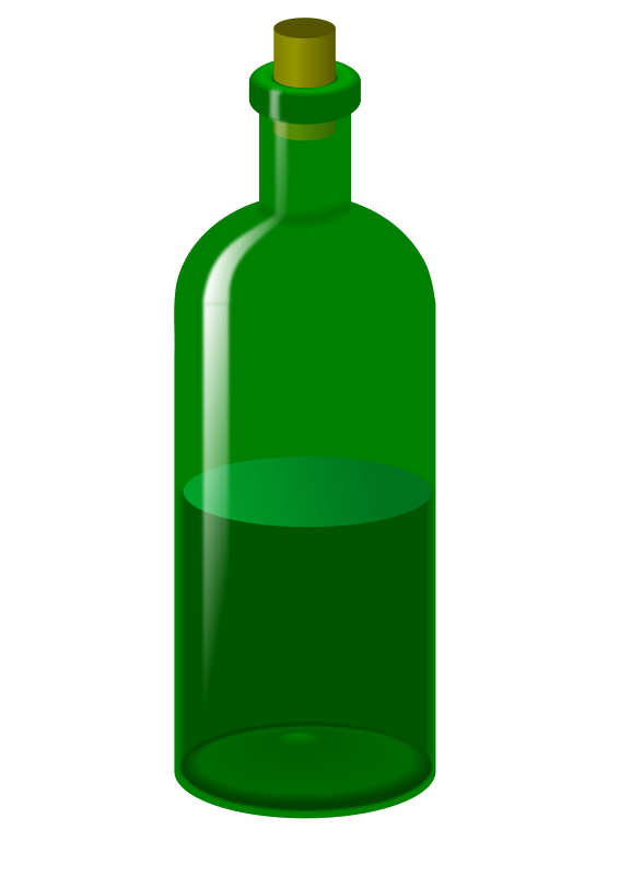 wine clipart glass vial
