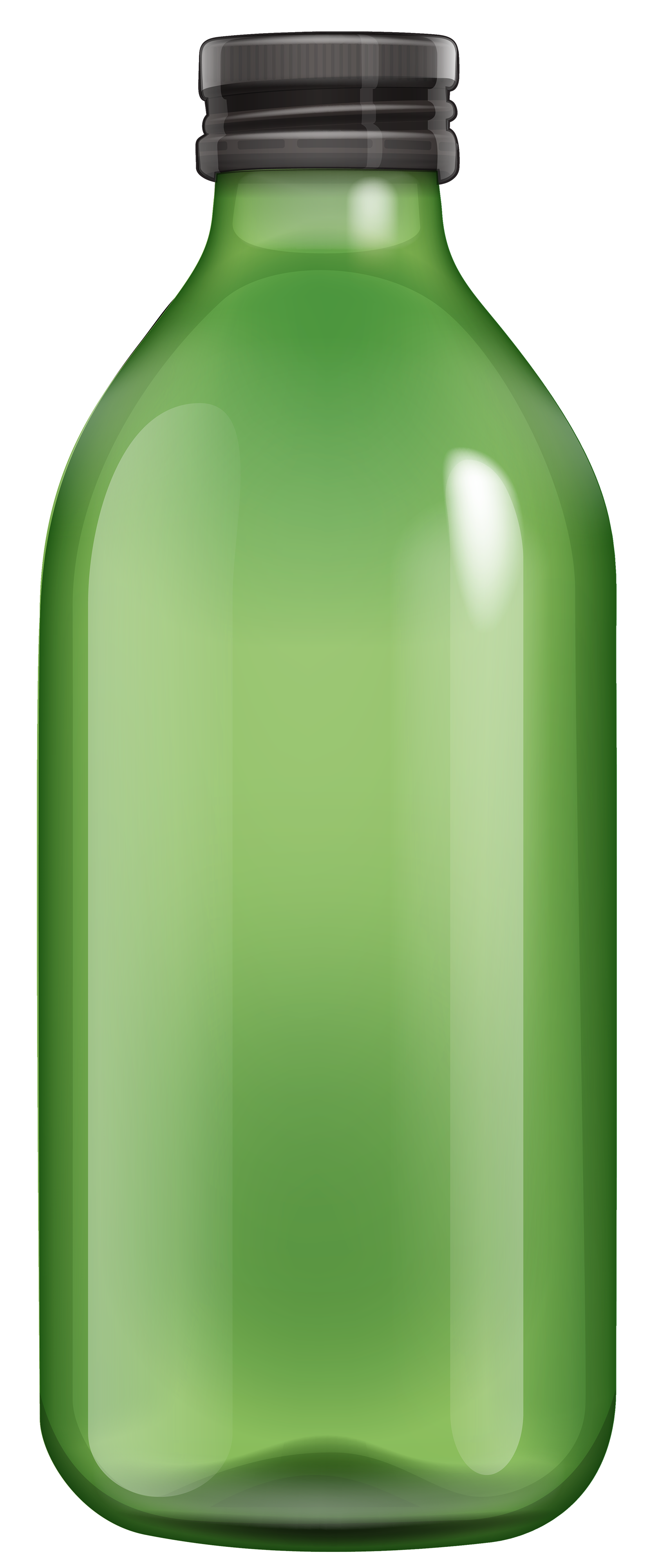 bottle clipart green bottle