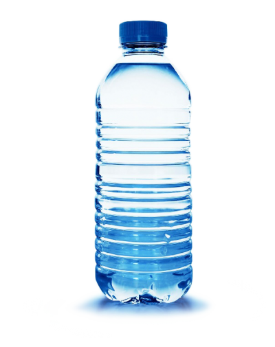 Transparent raindrop water bottle. Download free png image