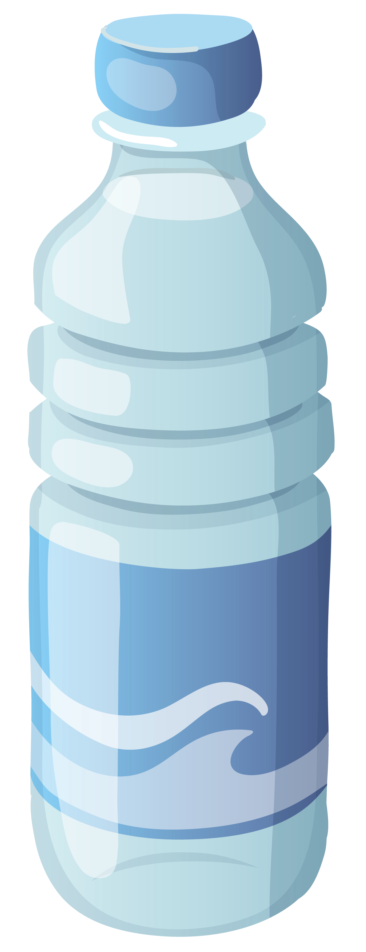 Transparent raindrop water bottle. Free cliparts download clip