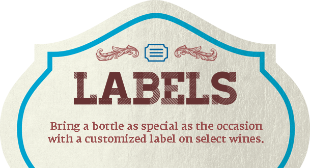 Bottle label png. Personalized labels happier holidays