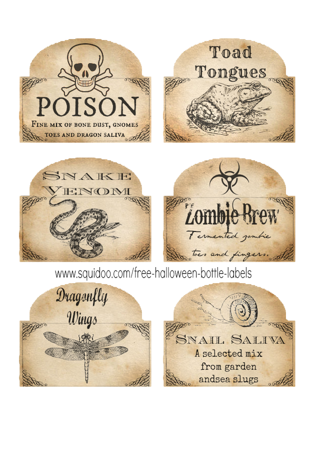 poison label png
