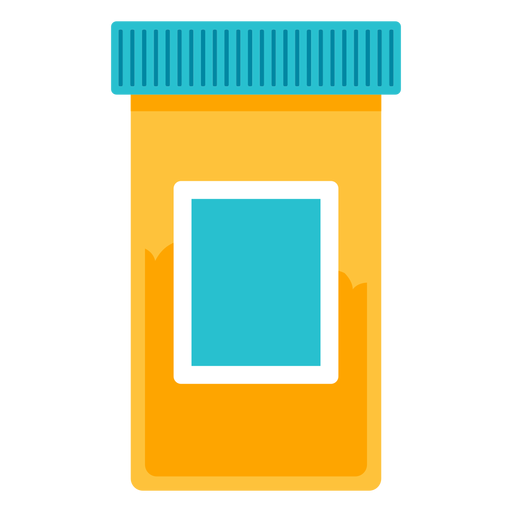 Transparent pills yellow