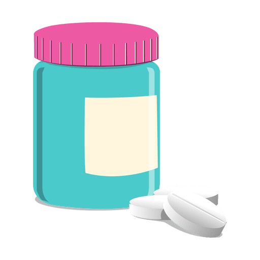 transparent jar pill