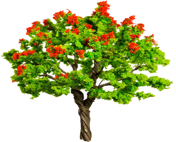 Bougainvillea drawing tree. All your stationery art