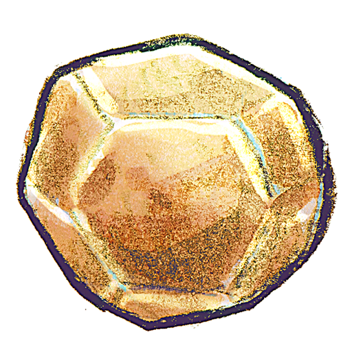 Boulder drawing rock. Round clipart