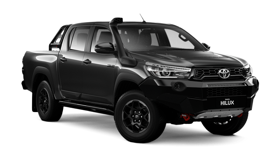 Drawing realism car. Hilux rugged x double
