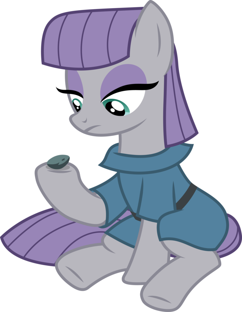 Boulder drawing wave. Maud pie and by