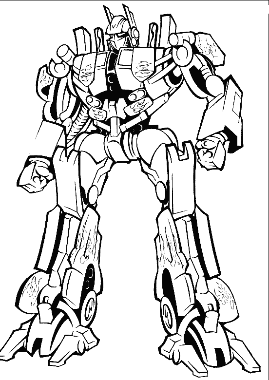 semi drawing optimus prime