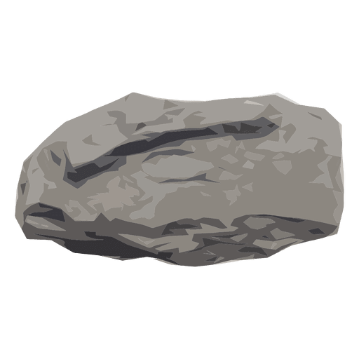 boulder transparent gray
