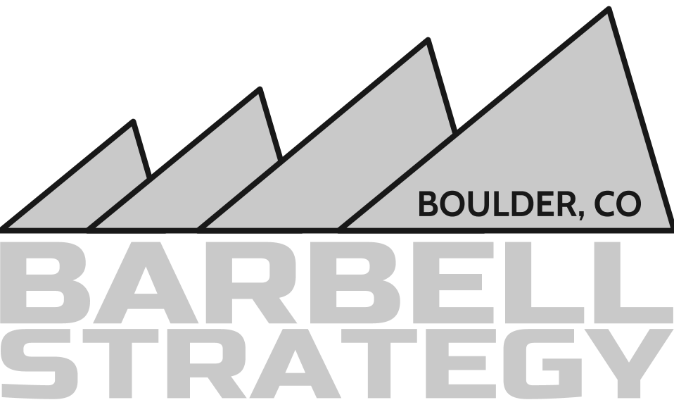 Boulder transparent caledonian. Barbell strategy sustainable strength