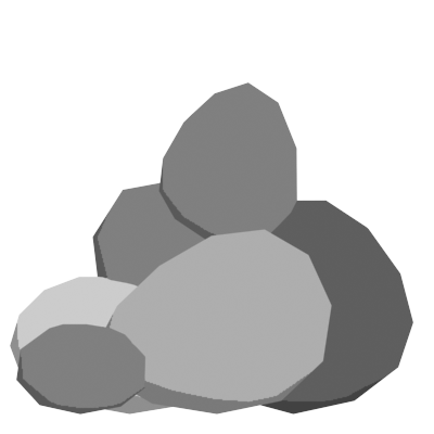 Transparent rocks animated. Finding a home my