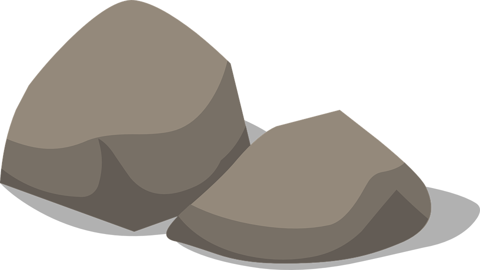 Boulder vector beach rock. Clipart free download on
